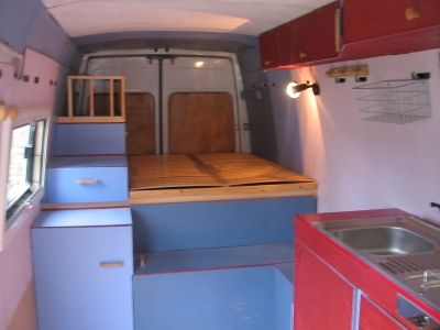 Sprinter vous am nag un camion en camping car for Catalogue amenagement interieur