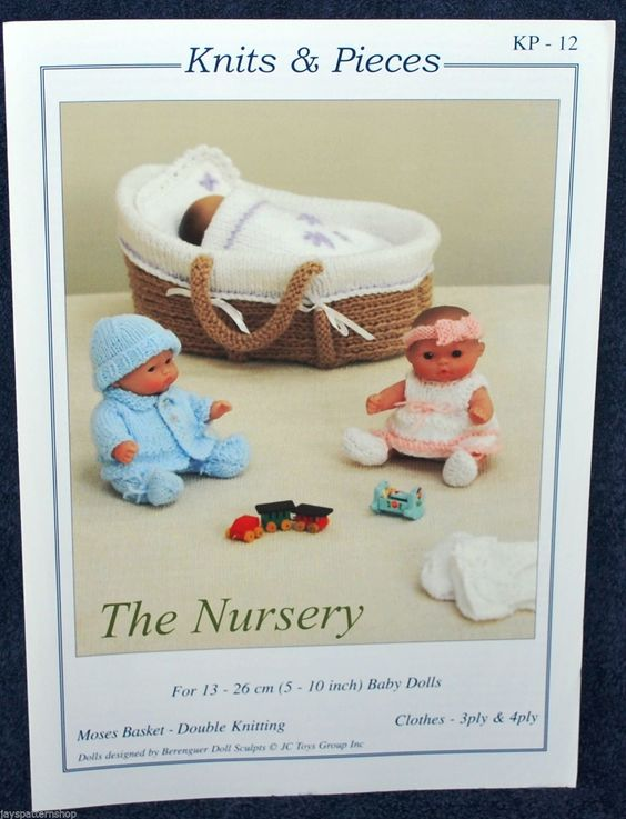 Knitting Pattern For Dolls Moses Basket : Pinterest   The world s catalog of ideas