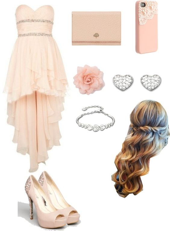 """""""Beautiful Prom Outfit"""" by cutenbeautiful ❤ liked on Polyvore"""