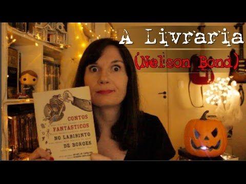 [CONTO] A livraria (Nelson Bond) | Mês do Horror ano IV | Tatiana Feltrin