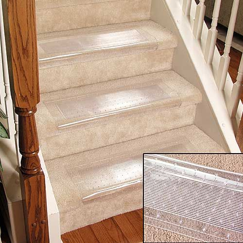 Clear Stair Carpet Protectors From Taylor Gifts Stair Carpet