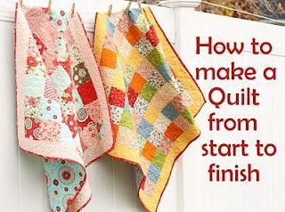 Beginning quilting tutorial