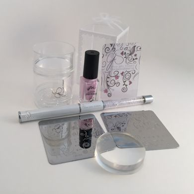 Clear Jelly Stamper- Big Bling Kit