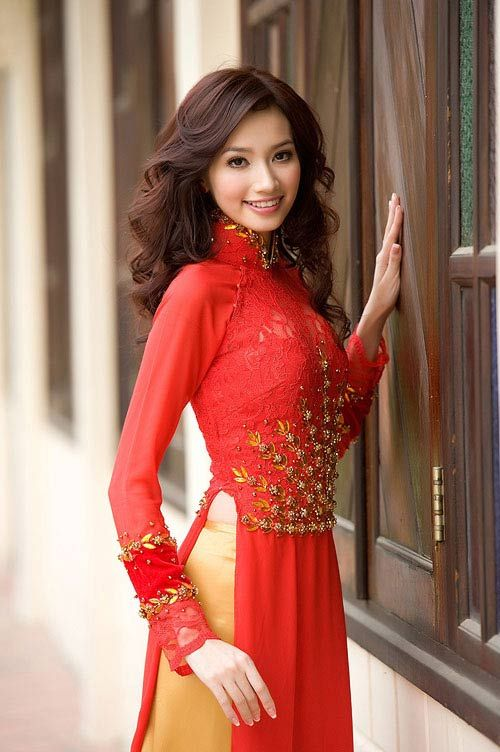 Creative Ao Dai  Vietnamese Traditional Dress