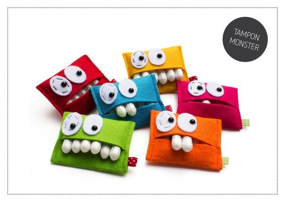 tampon monster ob monster von gr nwald shop auf dawanda. Black Bedroom Furniture Sets. Home Design Ideas