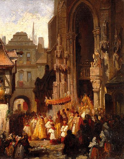 For Pascal's Thoughts On The Mystery Of Corpus Christi