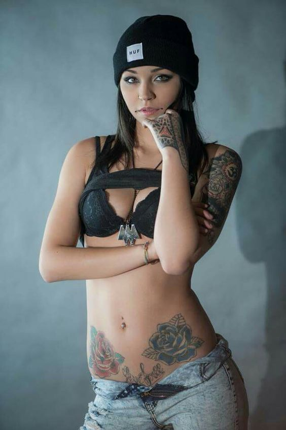 Something Suicide girls tattoos body are not