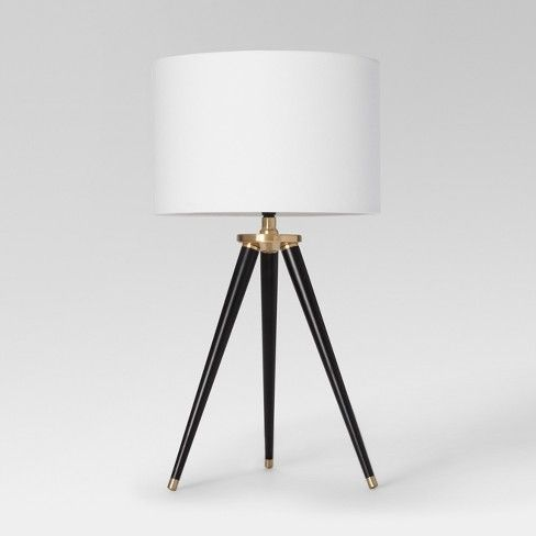 White Table lamps desk, tripod