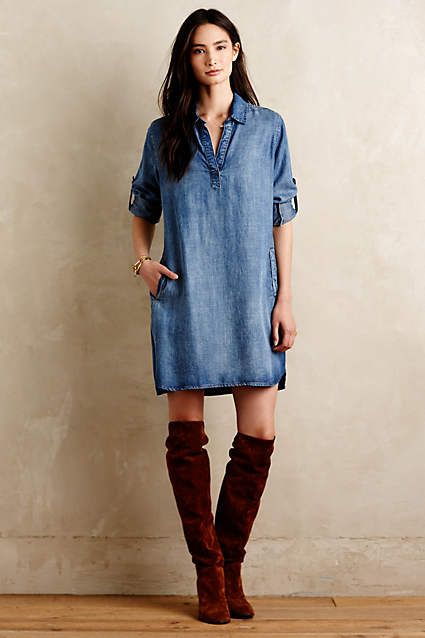 Weekend Tunic Dress - anthropologie.com
