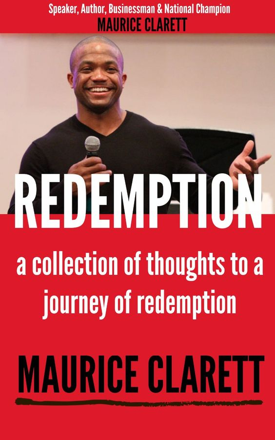 Maurice Clarett, Redemption, a collection of thoughts to a journey of redemption  ($10.46)