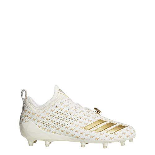Adidas Adizero 5 Star 7 0 7v7 Goat Adimoji Football Cleats 8 Off White Gold Metallic Off White Adidas Football Cleats Cleats Football Cleats