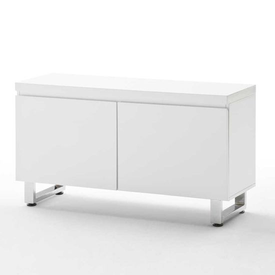 Sydney 2 Door Cabinet In High Gloss White 52126w White