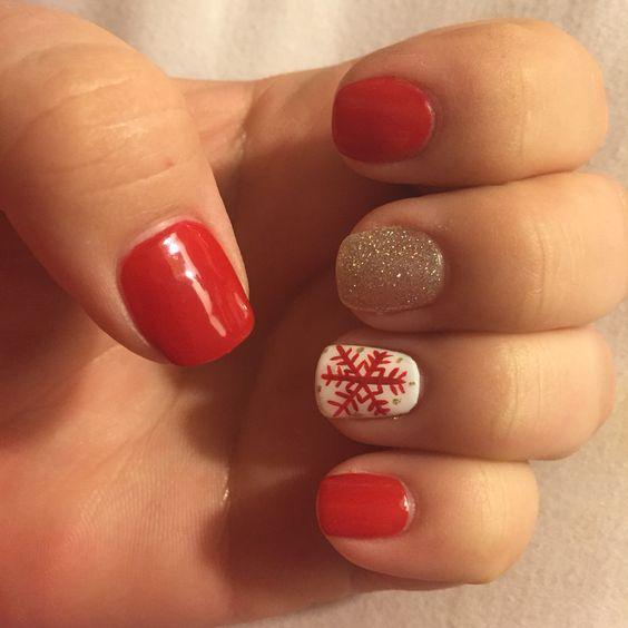 Christmas Nails at Star Nails in Burleson, TX!