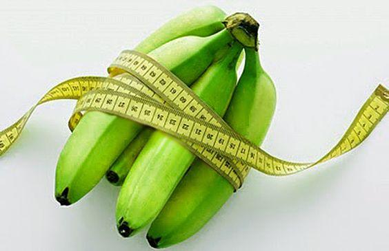 Giảm cân hiệu quả với chuối xanh