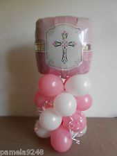 First+Communion+Balloon+Decorations | communion decorations | eBay