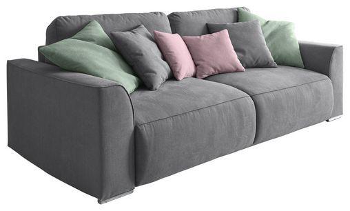 Sofa Mit Schlaffunktion In Grau Lazy 3dl Sofa Mit