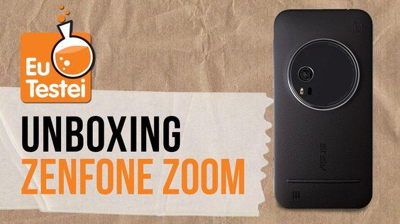 Unboxing show do Zenfone Zoom no cruzeiro ASUS OnBoard 2! - EuTestei