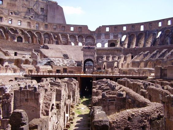 The Roman Colosseum today.