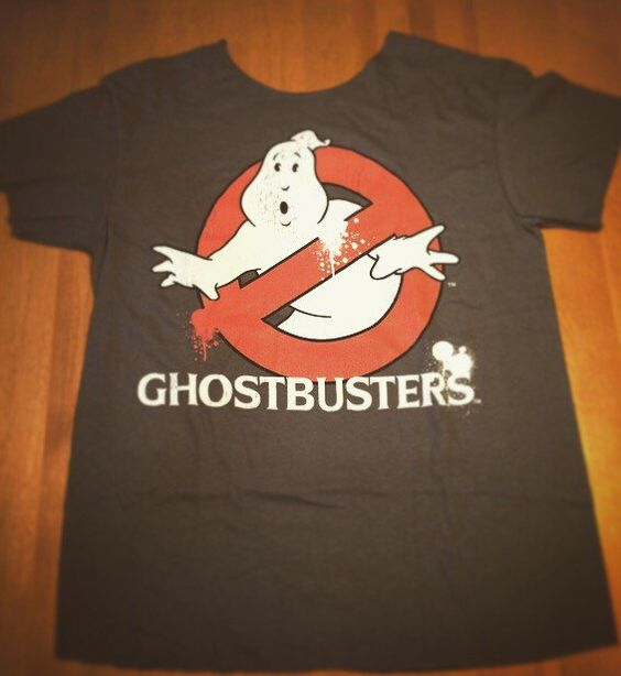 Ghostbusters off the shoulder t-shirt by RetroCoutureandMore on Etsy https://www.etsy.com/listing/479968529/ghostbusters-off-the-shoulder-t-shirt