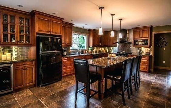 Kitchen Ideas Black Appliances Kitchen Remodel Traditional