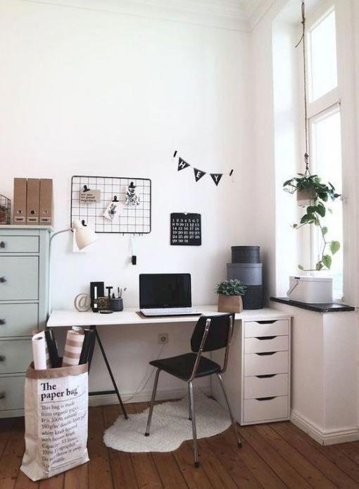 10 Cute Desk Decor Ideas For The Ultimate Work Space Society19 Cute Desk Decor Minimalist Living Room Home Office Design