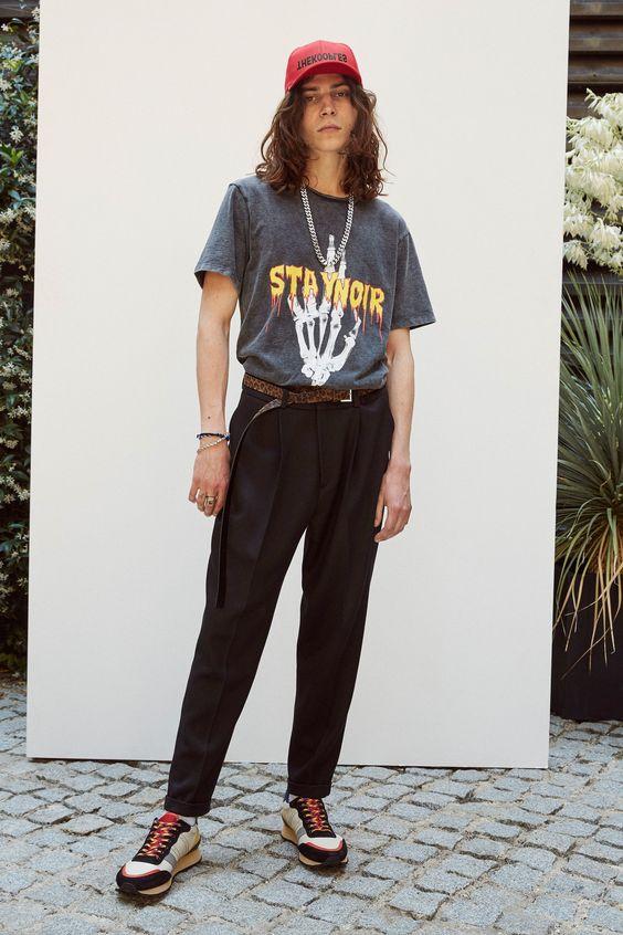 30代メンズトレンドTシャツコーデ