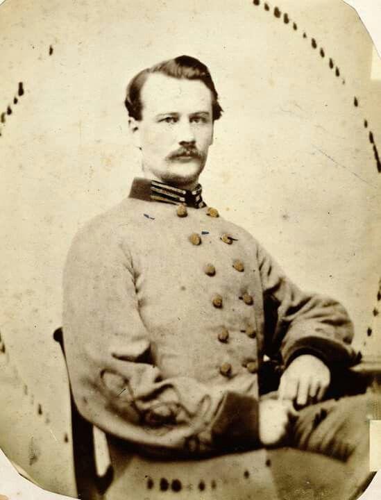 Capt, Howell G. Whitehead, Co. E 55th NC Infantry