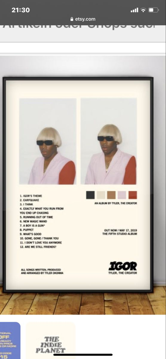 Tyler The Creator In 2020 Foto Wandcollage Wandcollage Collage