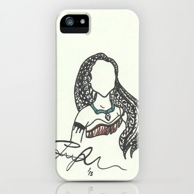 Pocahontas Zen Tangle iPhone & iPod Case