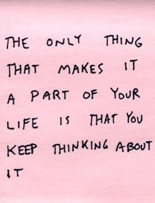 you keep thinking about it: Inspirational Quote, Stop Thinking, Remember This, Life Quote, My Life, So True, Letting Go, Wise Word