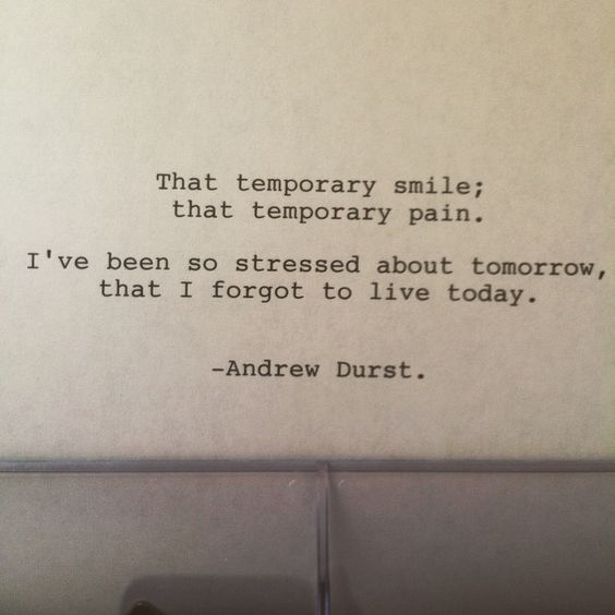 Andrew Durst —Please be easy my friends. I love you so fucking much. Typewriter #52 Enjoy. #poetry #poem #typewriter #typewriterpoem #art #thought #quote #words #writing #simple #short #shortpoem #writersofig #writersofinstagram #poetsofig #ink #paper #emotion #temporary #life #today #tomorrow #stress #live #smile #pain