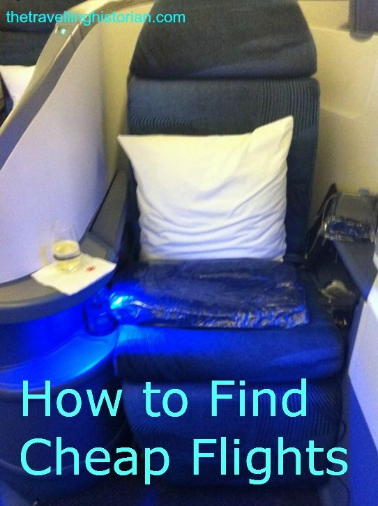 How to Find Cheap Flights - The Travelling Historian