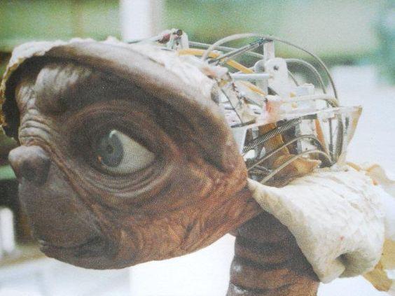 """Carlo Rambaldi's creature work, """"E.T. The Extra-Terrestrial"""""""