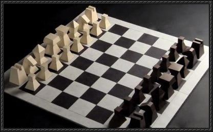 Chess Papercraft Free Template Download - http://www.papercraftsquare.com/chess-papercraft-free-template-download.html