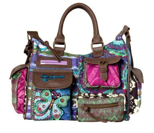 Desigual Bag London Bruselas Blue Rep 39x5280/5011 Womens ...