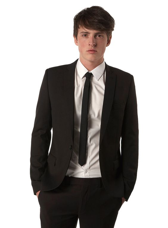 GROOM | topman skinny suit ~ gray | A GIRL CAN DREAM | Pinterest