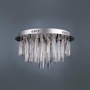 Lightinthebox Contemporary 12 Light Crystal Flush Mount Chandelier