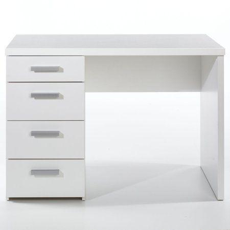 Wendell Desk Walmart Com Desk With Drawers White Desks Tvilum