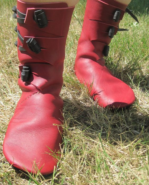 Haithabu Handmade Medieval leather Boot by BarefootCordwainer