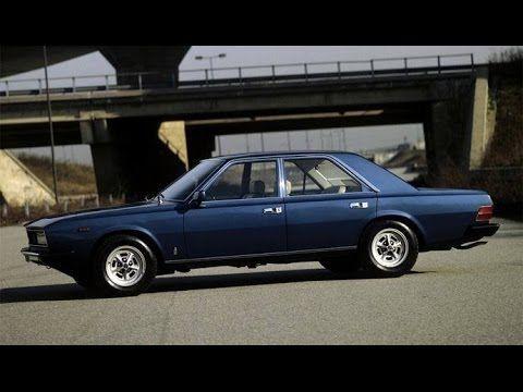 Lorenza Pininfarina Presenting The Fiat 130 Opera Youtube Fiat Vintage Cars Classic Cars