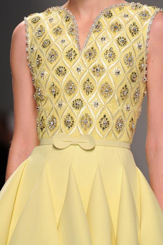 Regilla ⚜ Georges Hobeika Haute Couture Spring 2015: