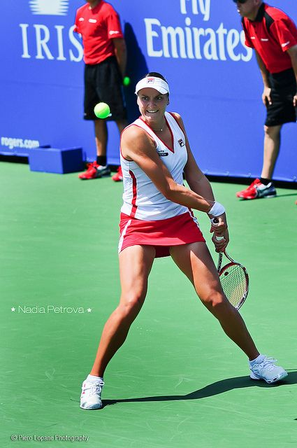Nadia Petrova @ Rogers Cup 2012 © Piero Lopane