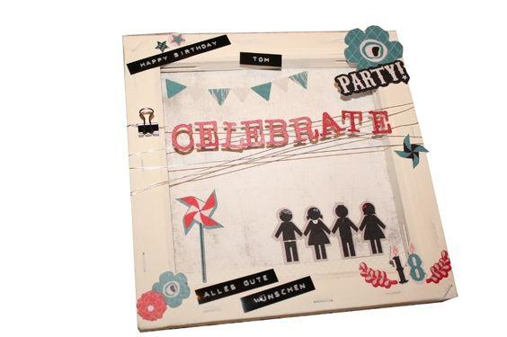Der nächste Geburtstag steht an und das Geburtstagskind wünscht sich Geld --- nur wie hübsch verpacken? Damit die Scheine nicht nur langweilig in eine