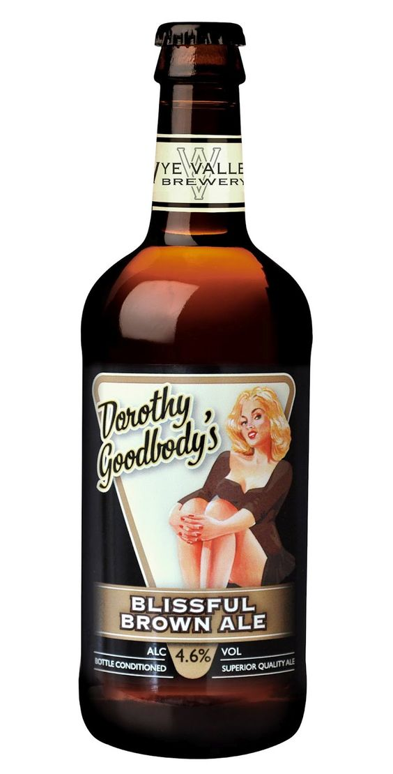 24th January 2013 ~ #DailyPint 24: Pint of Dorothy Goodbody, Wyevalley Brewery. Tasty, reminded me of Beamish, but a much better label on the bottle. 7/10 [Drank at home]