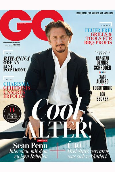 Bethge publication | GQ Germany. June 2015.