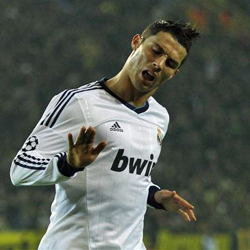 Celebración de Cristiano Ronaldo