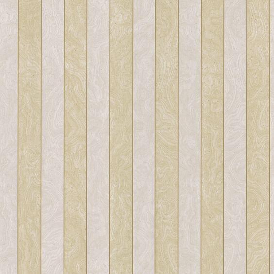 "33' x 20.5"" Stripes 3D Embossed Wallpaper"