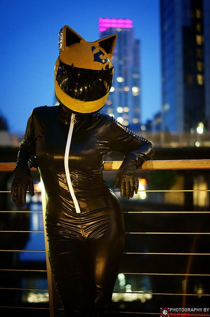 Gulper Eel as Celty on Flickr.  Photo by Carlos Adama