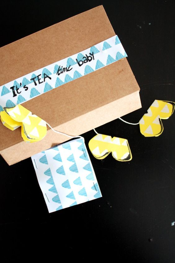 Schmetterling Teebeutel DIY 2