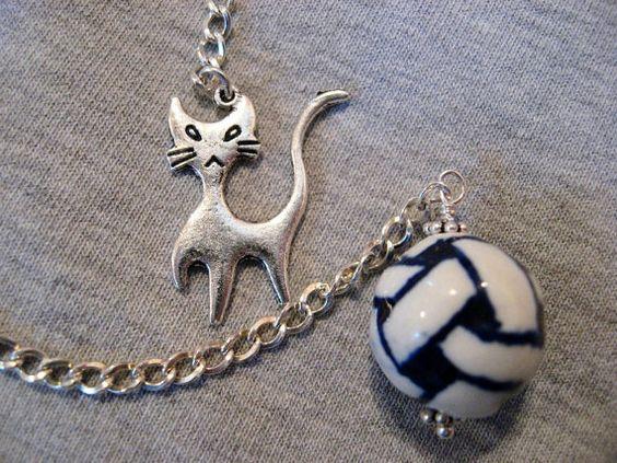 Dowsing Pendulum  Pet Pendulum  Kitty Cat with by DivineDowser, $24.00